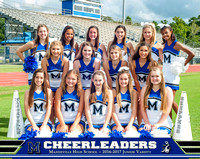 2016 JV Cheerleaders