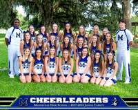 2017 Cheerleaders ~  Groups